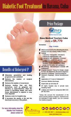 Infographics: Diabetic Foot Treatment in Havana Cuba