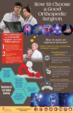 Infographics: How to Choose a Good Orthopedic Surgeon