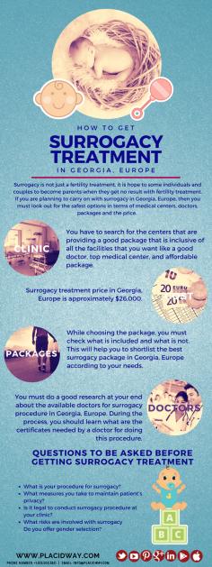 Infographics: Surrogacy Treatment in Georgia, Europe